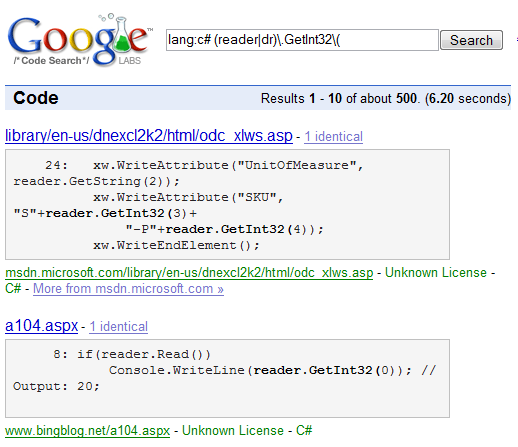 msdn code license