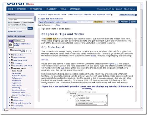 Safari Online Books
